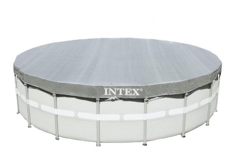 Telo di copertura intex 28040 deluxe universale per for Ricambi per piscine fuori terra intex