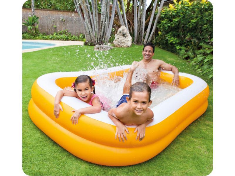 Intex 57181 piscina mandarin swim center 229 x 147 x 46 cm - Piscina gonfiabile amazon ...