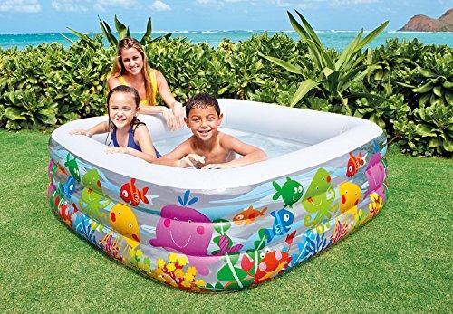 Piscina gonfiabile per bambini intex acquarium piscina