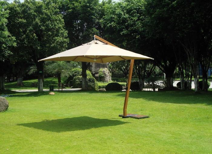 Ombrellone quadrato da giardino 5038 contract ombrellone quadrato