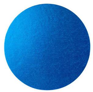 Vassoio rotondo blu rigido cm 40