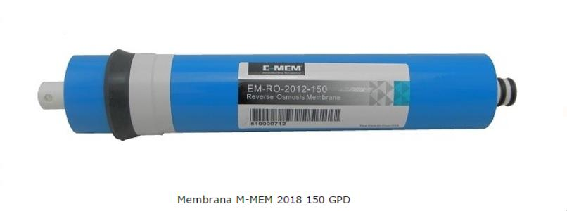 Membrana Osmosi E-MEM TW302012150 GPD