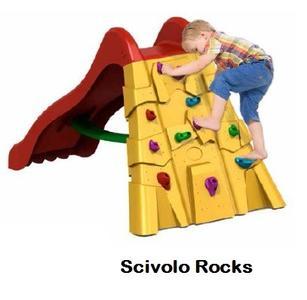 Scivolo ROCKS ALTEZZA 110 CM con arrampicata COD.SC1629 Scivoli