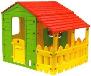 Casetta da giardino per bimbi fun farm casetta in plastica for Casetta giardino bimbi usata