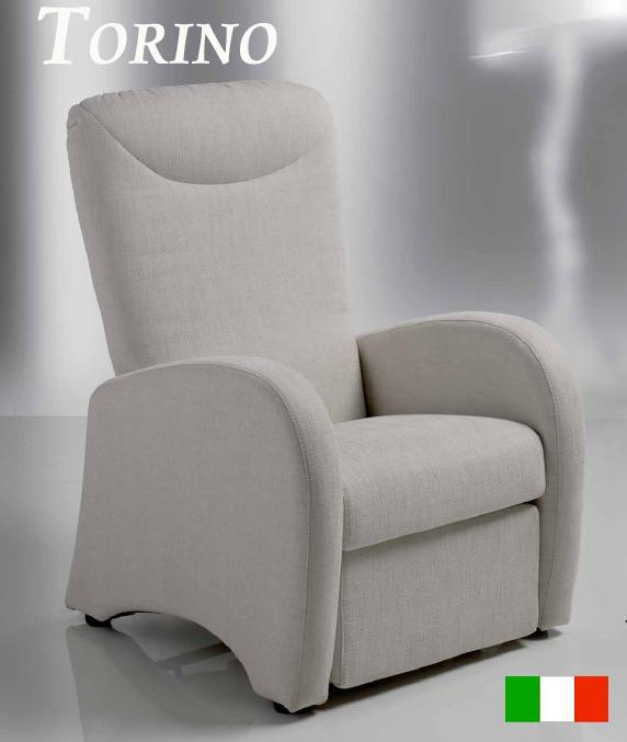 Poltrona relax manuale mod torino prodotto italiano for Poltrone relax amazon