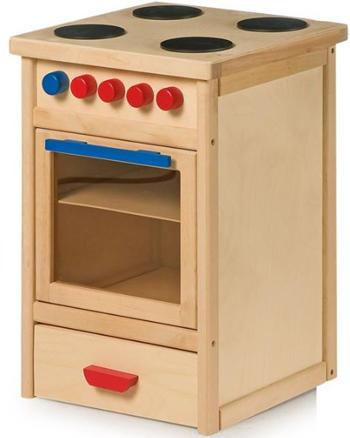 Fornello con forno in Legno per Bambini della Legler