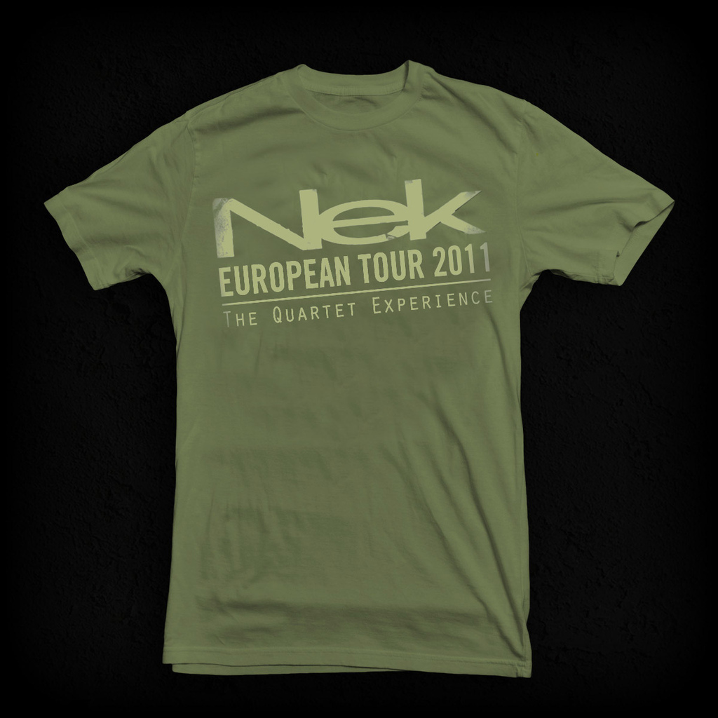 T-Shirt Green Nek The quartet experience