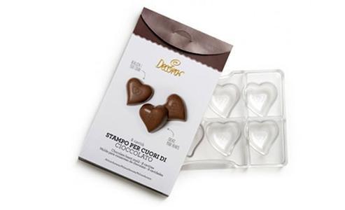 Stampo cioccolato cuori