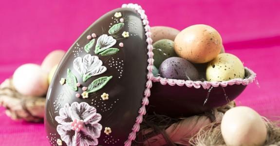 Stampo cioccolato uova  policarbonato 750 gr (1 cavità)