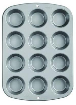 stampo wilton per 12 muffin cm 5