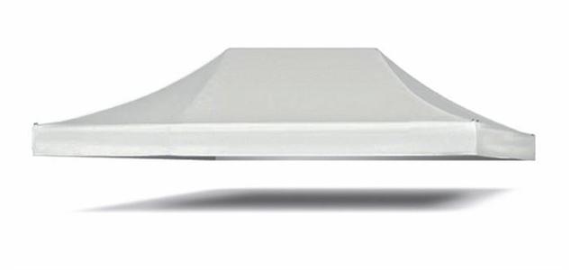 Telone ricambio gazebo SUPER PESANTE RESISTENTE impermeabile beige copertura telo di ricambio con bordo per gazebo gazebi mt. 3 x 4 in PVC spalmato in textilene impermeabile MILANO34 con camino PROFESSIONAL