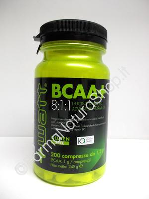 +WATT BCAA+ 8:1:1 Leucine Loading Advanced Formula