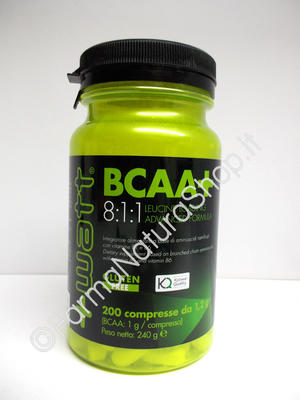 +WATT BCAA+ 8:1:1 Leucine Loading Advanced Formula