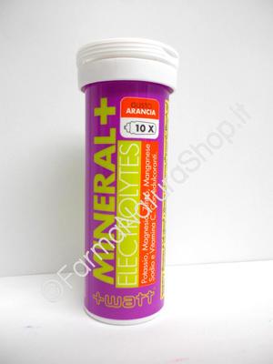 +WATT MINERAL+ Electrolytes Sali Minerali