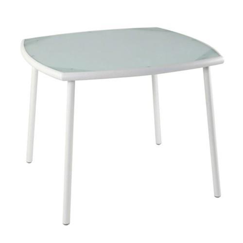 Greenwood sta 81 sabaudia tavolo colore avorio la for Arredo da giardino in alluminio