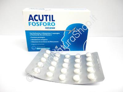 Acutil Fosforo Advance Angelini - 50 compresse