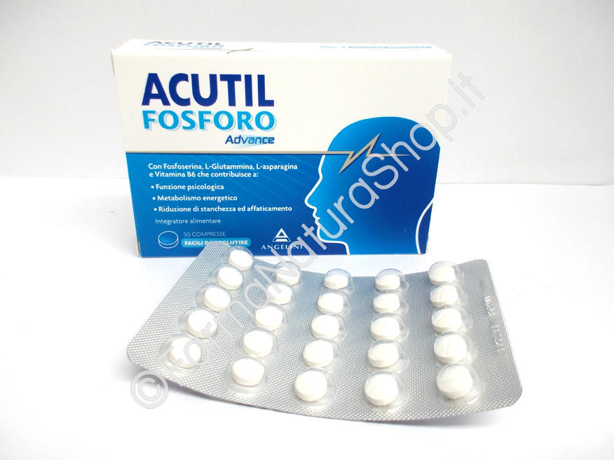 ACUTIL FOSFORO ADVANCE Compresse
