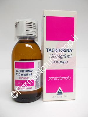 TACHIPIRINA® 120 mg/5ml Sciroppo