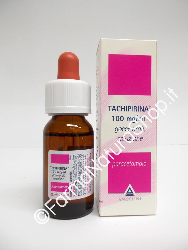 TACHIPIRINA® 100 mg/ml Gocce orali