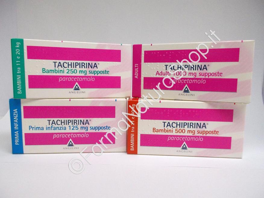 TACHIPIRINA® Supposte