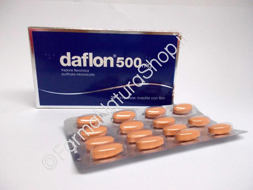 DAFLON® 500 mg - 30 o 60 compresse rivestite