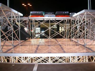Titan Stage DECK 50x100 TRASPARENTE