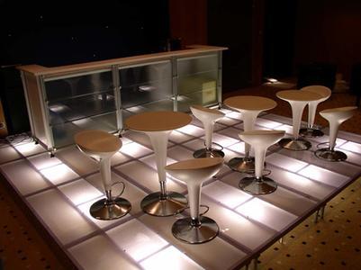 Titan Stage DECK 75x150 TRASPARENTE