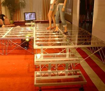 Titan Stage DECK 100x100 TRASPARENTE