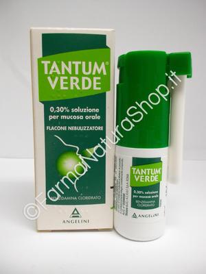 TANTUM VERDE 0,30% Spray per mucosa orale