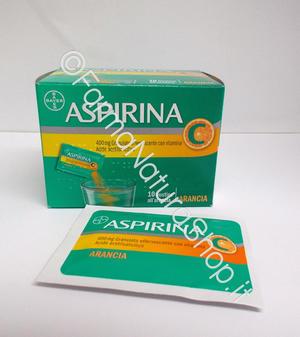 ASPIRINA C granulato effervescente