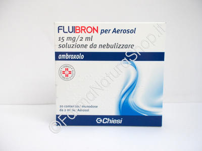 FLUIBRON 15 mg/2 ml soluzione da nebulizzare