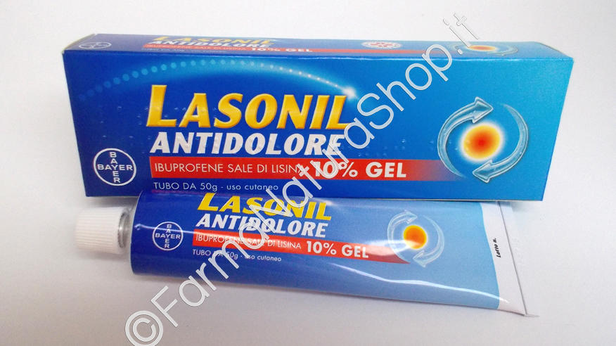 LASONIL ANTIDOLORE 10% gel
