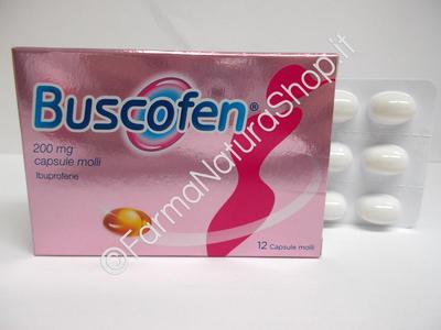 BUSCOFEN 200 mg capsule molli