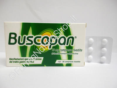 BUSCOPAN 10 mg compresse rivestite