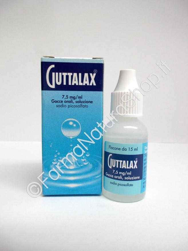 GUTTALAX 7,5 mg/ml gocce orali