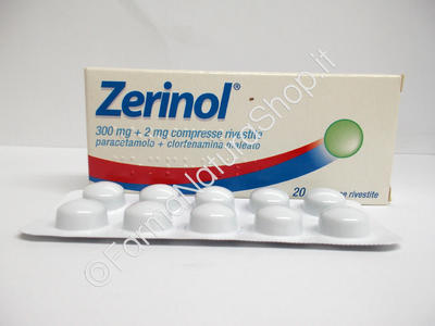 ZERINOL 300 mg + 2 mg compresse rivestite
