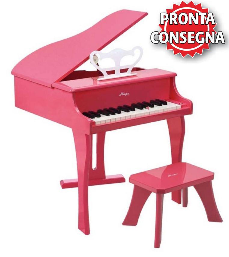 Pianoforte a Coda Allegro Rosa in Legno Naturale Hape - Offerta