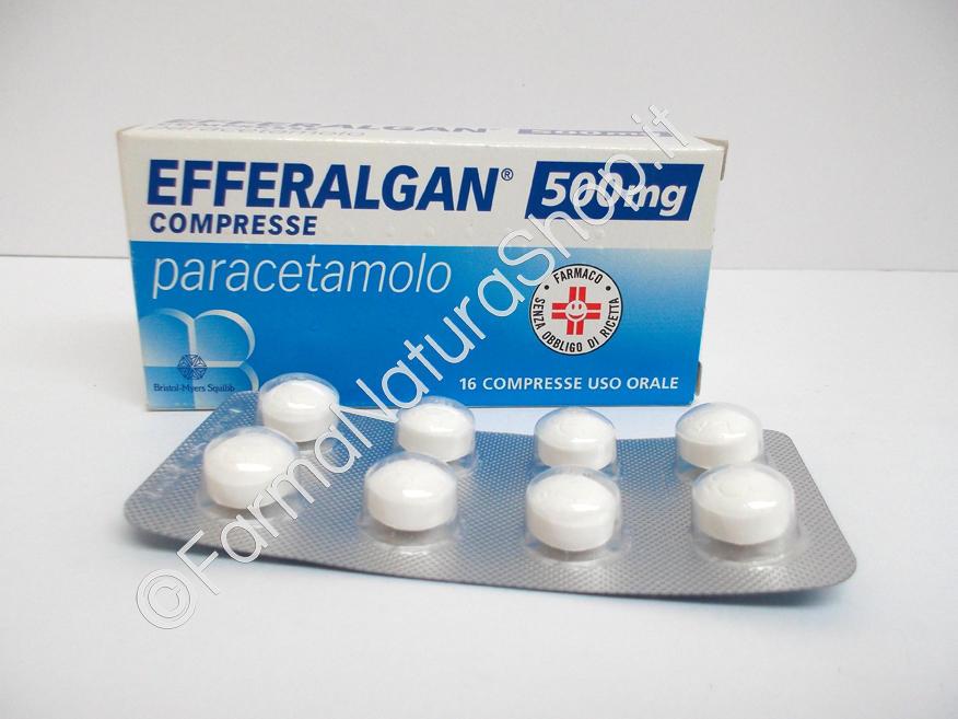 EFFERALGAN 500 mg
