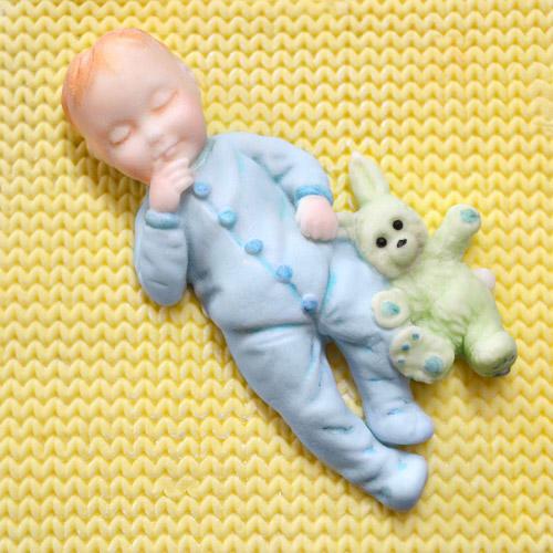 stampo silicone piccolo bimbo Katie Sue