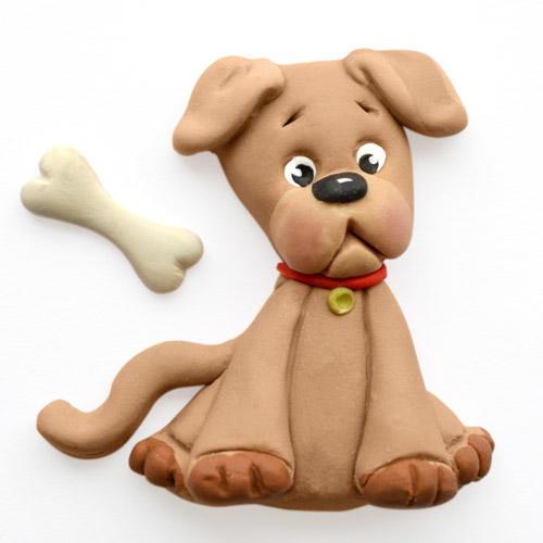 stampo silicone cane con osso  Katie Sue