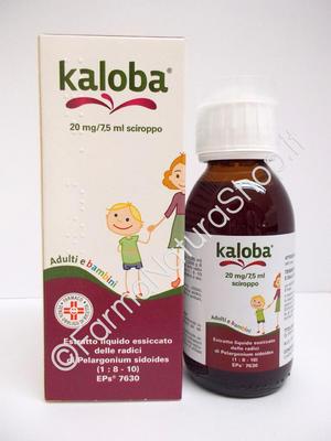 KALOBA 20 mg / 7,5 ml sciroppo