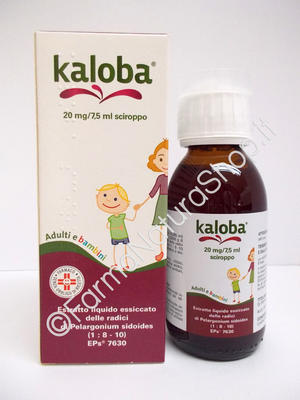 KALOBA 20 mg / 7,5 ml sciroppo