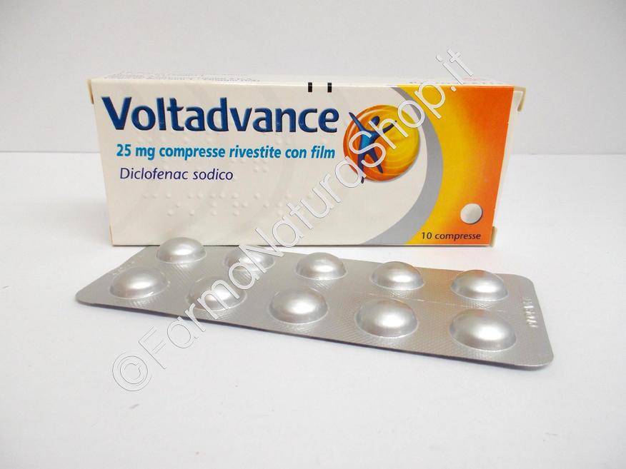 VOLTADVANCE 25 mg Compresse - Bustine