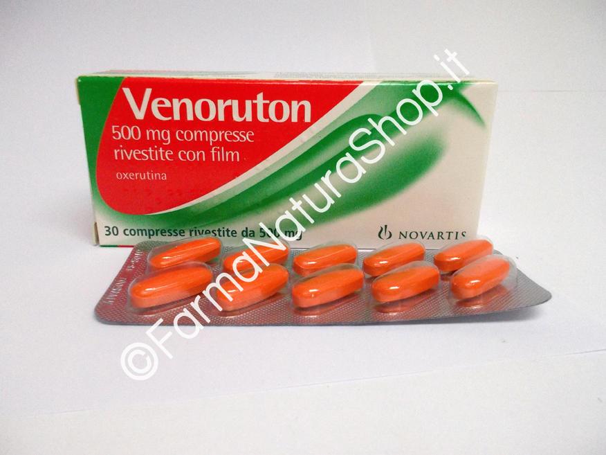 VENORUTON 500 mg compresse rivestite con film