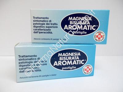 MAGNESIA BISURATA AROMATIC pastiglie