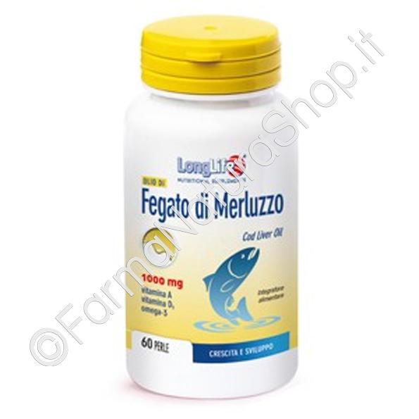 LONGLIFE OLIO DI FEGATO DI MERLUZZO 1000 mg