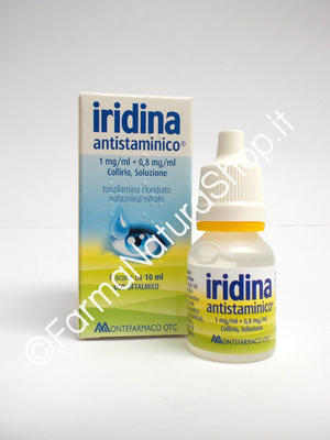 IRIDINA ANTISTAMINICO 1 mg/ml + 0,8 mg/ml Collirio