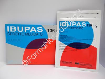 IBUPAS 136 mg  - 7 Cerotti Medicati
