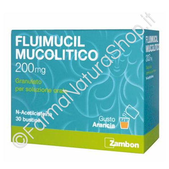 FLUIMUCIL MUCOLITICO 200 mg - Granulato per soluzione orale