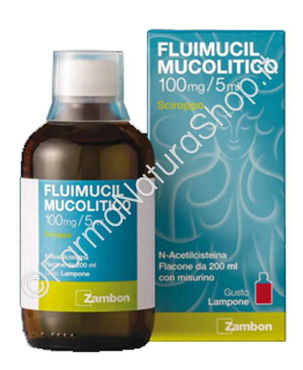 FLUIMUCIL MUCOLITICO 100 mg / 5 ml sciroppo